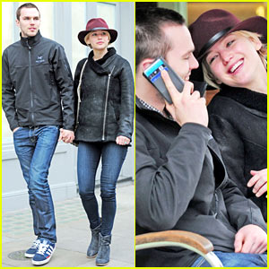 Jennifer Lawrence & Nicholas Hoult Hold Hands, Look So in Love in London!