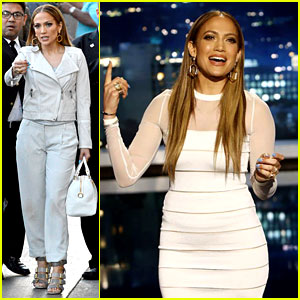Jennifer Lopez Translates 'I Luh Yah Papi' with Jimmy Kimmel!