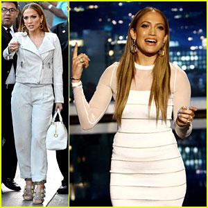 Jennifer Lopez Translates 'I Luh Yah Papi' with Jimmy Kimmel!