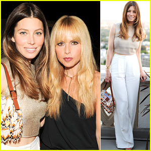 Jessica Biel Puts Her Toned Stomach on Display at Tiffany's Atlas Collection Party!
