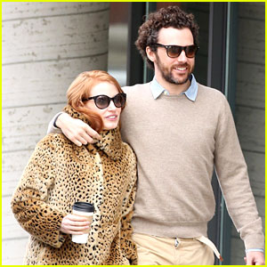 Jessica Chastain Takes 'Crimson Peak' Break with Her Boyfriend!