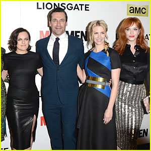 Jon Hamm Is a Ladies Man at 'Mad Men' Season 7 Premiere!