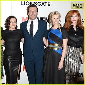 Jon Hamm Is a Ladies Man at 'Mad Men' Season 7 Premiere!