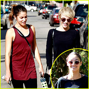 Julianne Hough & Nikki Reed Go Hiking with Cara Santana!