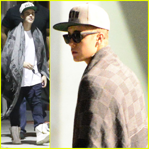 Justin Bieber Pulls an All-Nighter at The Hit Factory with Lil Wayne & Birdman!