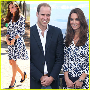 Kate Middleton & Prince William Help Plant a Tree in Australia!