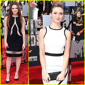 Katie Stevens & Rita Volk Aren't 'Faking It' at the MTV Movie Awards!