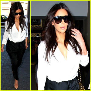 Kim Kardashian Flies Out of Town Amid New Wedding Rumors!
