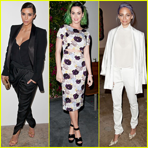 Kim Kardashian & Katy Perry Step Out to Support Congressional Candidate Marianne Williamson!