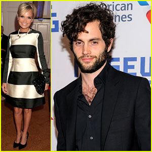 Kristin Chenoweth & Penn Badgley Support Their Pal Kevin Spacey at Museum of Moving Image Gala