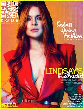 Lindsay Lohan Sobriety Questioned in 'Kode' Magazine Feature
