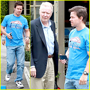 Mark Wahlberg Meets Up with Angelina Jolie's Dad Jon Voight!