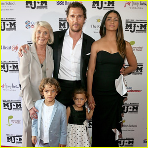 Matthew McConaughey Brings the Whole Family to His Mack, Jack & McConaughey Gala