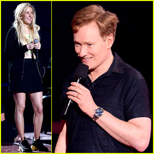 MTV Movie Awards 2014: See Conan O'Brien & Ellie Goulding in Rehearsals!