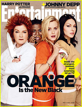 'Orange is the New Black' Ladies are Back in Their Prison Garb for 'EW'!