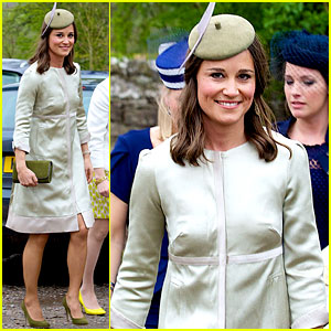 Pippa Middleton Goes Green for Her Friend's Wedding!