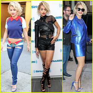 Rita Ora Rocks Three Outfits to Promote 'I Will Never Let You Down' in NYC!