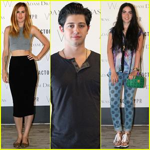Rumer Willis & Isabelle Fuhrman Prep for Coachella at the Style Studio!