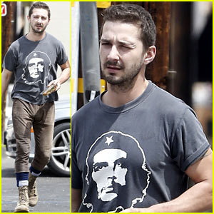 Shia LaBeouf Reportedly Bought Lunch for a Homeless Man