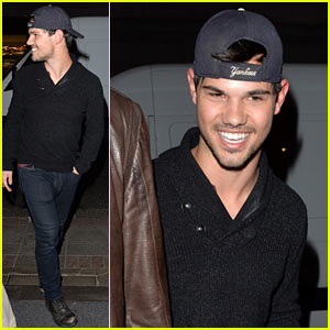 Taylor Lautner & Marie Avgeropoulos Are 'Very Happy' Together!