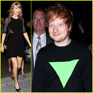 Taylor Swift Parties with Ed Sheeran After 'SNL' Appearance!