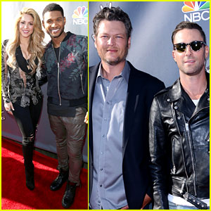 'The Voice' Coaches Walk Red Carpet at Season 6 Event!