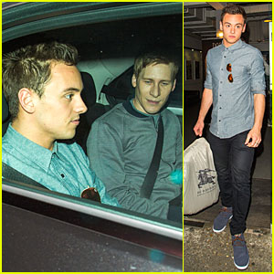 Tom Daley & Dustin Lance Black Are the Perfect 'Celebrity Juice' Blend!