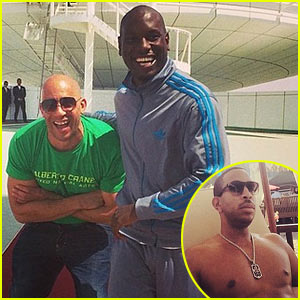 Tyrese & Vin Diesel Explore Abu Dhabi & Remember Paul Walker While Filming 'Fast & Furious 7'