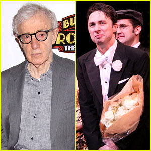 Woody Allen Celebrates the Opening Night of His Musical 'Bullets Over Broadway'