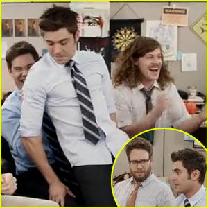 Zac Efron Gives a Lap Dance, Admits to 'Plowing' Lots of Chicks in Comedy Central Funny Video - Watch Now!