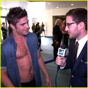 Zac Efron Gets Interviewed  Zac Efron 2014 Movie