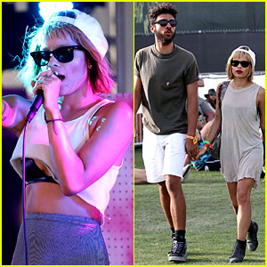 Divergent's Zoe Kravitz Holds Hands with Noah Becker at Coachella!