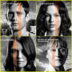 Alexander Skarsgard, Taylor Swift, & More Featured on 'Giver' Character Posters!