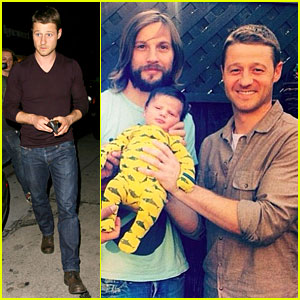 Ben McKenzie Meets Logan Marshall-Green's Newborn Baby!