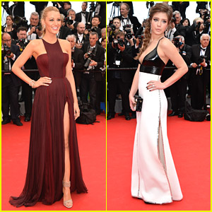Blake Lively & Adele Exarchopoulos Attend Cannes 2014 Opening Ceremony