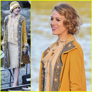 Blake Lively Hits the Beach in Burnaby for 'Age of Adaline'!