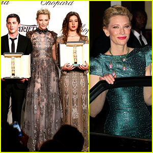 Cate Blanchett Honors Young Stars with Chopard Trophy