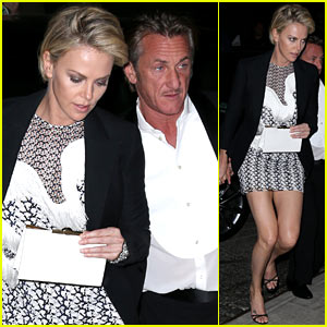 Charlize Theron & Sean Penn Keep the Night Going at Met Ball 2014 After Party!