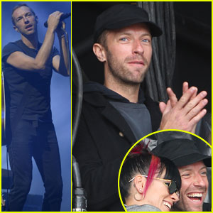 Chris Martin Takes Selfies with Lily Allen, Joins Kings of Leon on Stage at Radio 1's Big Weekend Glasgow!