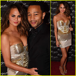 Chrissy Teigen & John Legend Celebrate Memorial Day in Atlantic City!