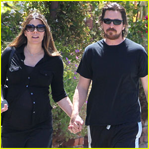 Christian Bale Steps Out Holding Hands with Pregnant Wife Sibi!