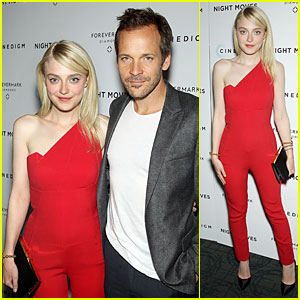 Dakota Fanning & Peter Sarsgaard Are Definitely Rad at 'Night Moves' NYC Premiere!