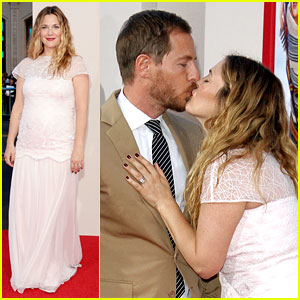 Drew Barrymore & Will Kopelman Leave the Babies at Home to Attend 'Blended' Premiere!