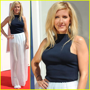 Ellie Goulding is a Sheer Beauty at the British Designers Collective Launch!