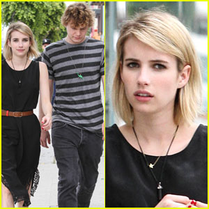 Emma Roberts Says the Sun Selfie is in This Summer!