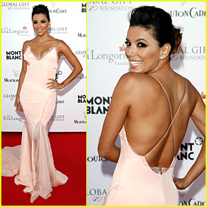 Eva Longoria Brings Sexy Back at Cannes Global Gift Gala!