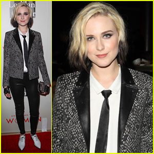 Evan Rachel Wood Takes on Three Songs at 'Evening with Women' Event - Watch Her Performances!