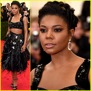 Gabrielle Union Shows Off Her Toned Stomach at Met Ball 2014