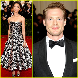 Gugu Mbatha-Raw & Sam Reid Bring 'Belle' to Met Ball 2014