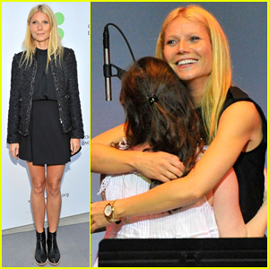 Gwyneth Paltrow Hits the Stage with Sasha Spielberg for First Annual Poetic Justice Fundraiser!